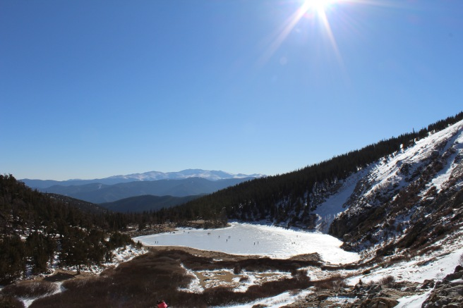 St. Mary's Glacier in Colorado